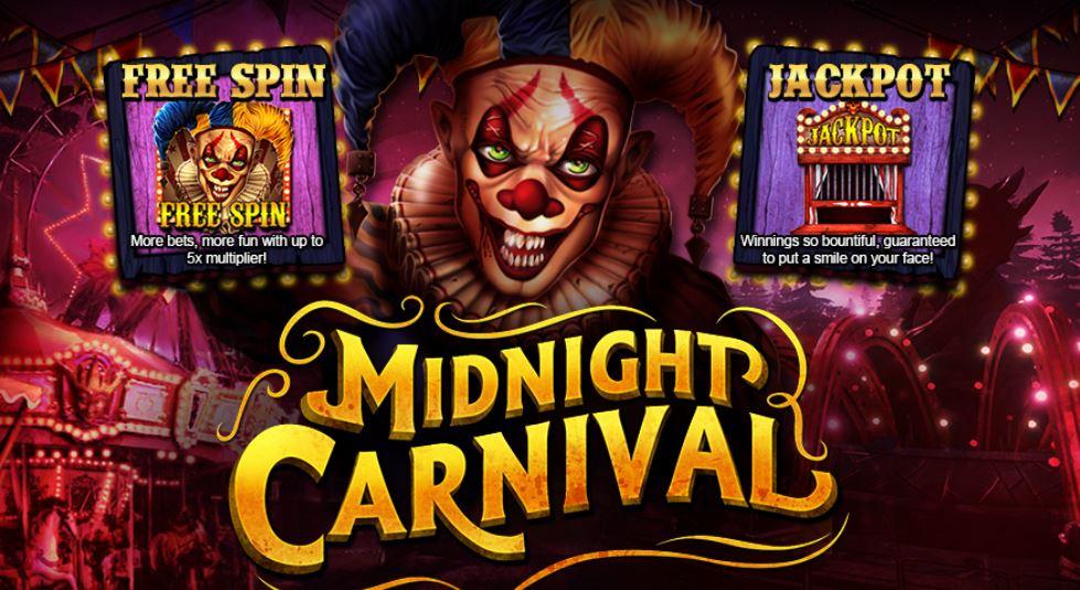 Live22 แนะนำสล็อตน่าเล่น Midnight Carnival ประจำเดือน
